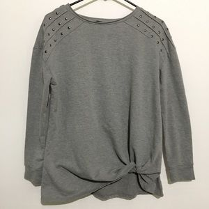 2/$20 Rock & Republic Gray Long Sleeve Shirt